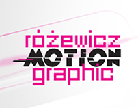 Różewicz Motion Graphic