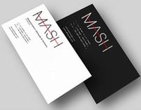 Mash jeans - Concept logo