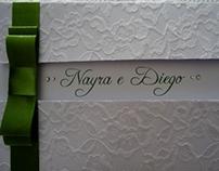 Convite de casamento  (etapas)
