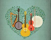 Irish Festival Poster // Graphic Design