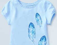 Feather Girl Shirt