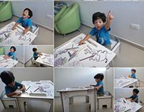 Muebles Infantiles para Colorear