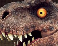 T-rex cartoon