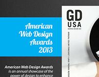 ED-GD USA web awards Single page HTML