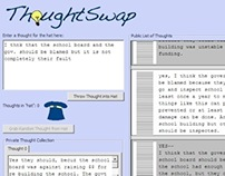 ThoughtSwap (Research/Interaction Design)