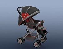 Pierre Cardin Bebek Arabası Ürün Kullanım Videosu (3D)