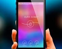 Test Aura Soma (Mobile Interface Design)