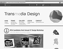UT Transmedia Design Branding & Website