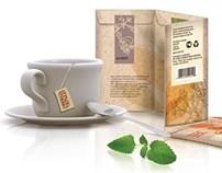 Разработка упаковки для серии травяных чаев