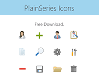 PlainSeries Stock Icons
