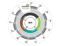 2012 Calendar-The Round Of Seasons