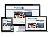 DCI Cleaning Ltd Website Redesign