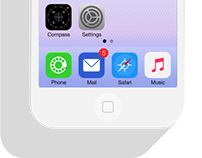 iOS7 DOCK ICONS REDESIGN