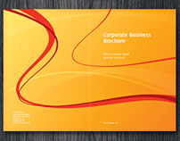 Half-Fold Corporate Business Brochure
