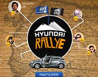 Hyundai Rallye Facebook App