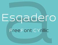 Esqadero FF CY (Typeface)