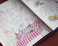 "Book ""Italian cuisine"""