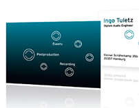 Ingo Tuletz Audio Engineer Corporate Design