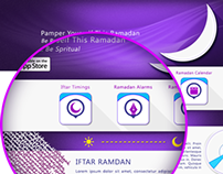 iOS App Iftar Ramadan Website 2013