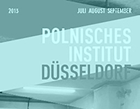 Polish Institute Düsseldorf Programme Summer 2013
