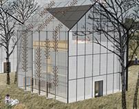 Passive-solar house
