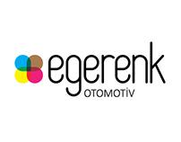 EGERENK Otomotiv Logo Çalışması
