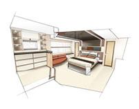 Exploring Interior Motoryacht Concept