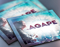 Agape CD Artwork Template