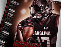 South Carolina spring game poster