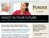 Purdue Calumet NW Nursing Email