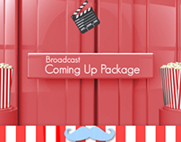 Broadcast Coming Up Next Package // Videohive