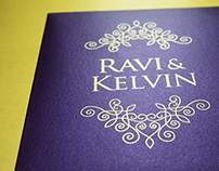Wedding Invite (Ravi & Kelvin)