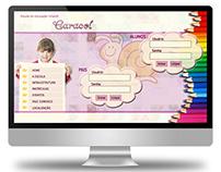2008 - Website layout for kindergarten