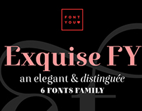 New font EXQUISE FY