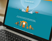 Illustrated Website Design