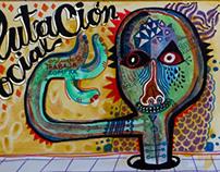 """""""Mutación Social"""" By Miguel Palomar."""
