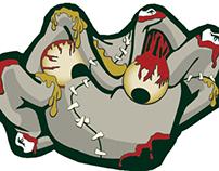 WEBN Zombie Frog
