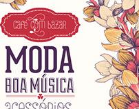 Café com Bazar segunda edição por mim