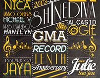GMA Records 10th Anniversary