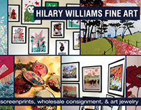 Hilary Williams Promotional Mailer