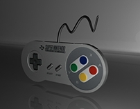 Controller SNES 3D