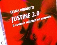"Book Cover INK edizioni ""Justine 2.0"" Elena Bibolotti"