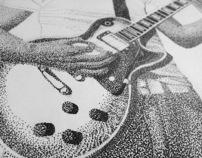 Hand rendered illustrations
