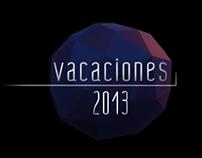 Campaña Vacaciones 2013