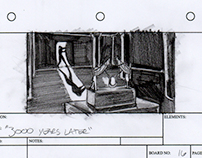Secrets of Isis Storyboards