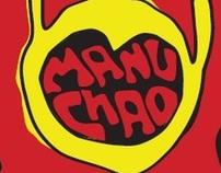 Manu Chao concert poster