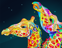 Giraffes for Akadea