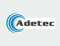 Adetec -Logo  & print design