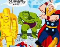 Revectorize The Avengers #1
