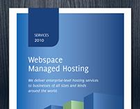 Half-Fold Hosting Brochure